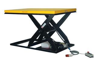 Plus de confort avec la table élévatrice électrique !