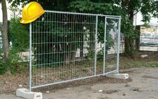 Une autorisation pour installer une cloture de chantier !