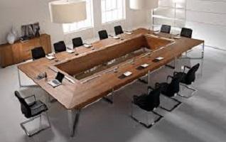 Ameublement salle de conférences – bien choisir sa table de réunion