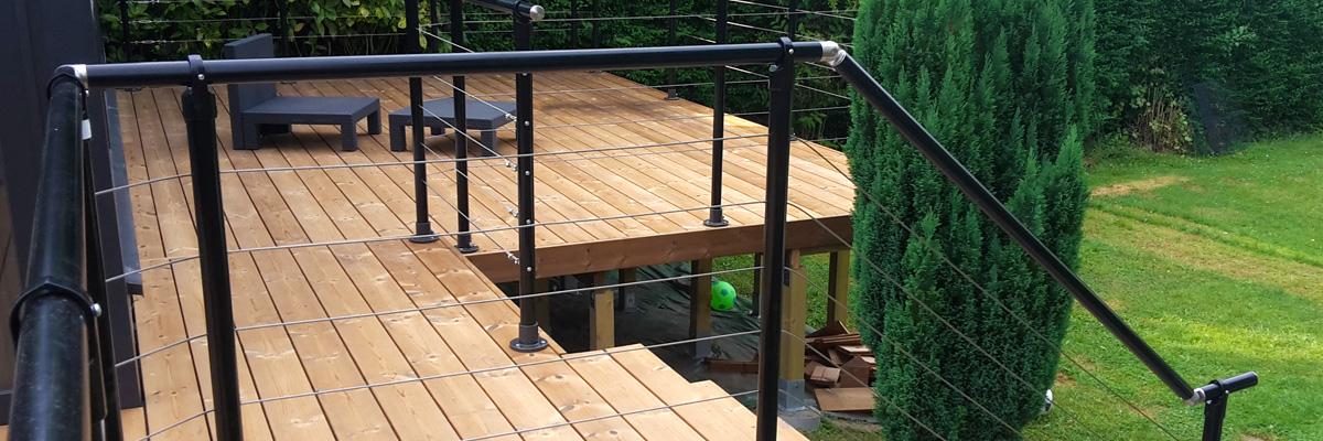 L'aménagement d'une terrasse